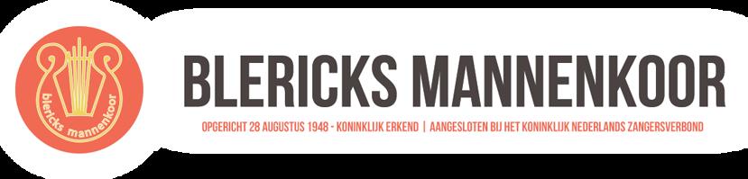 Blericks mannenkoor logo
